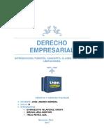 Derecho Empresarial Monografia