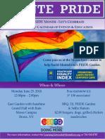 Monte Pride Flyer