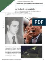 El Adiós de Uribe a 40 Años de Carrera Pública - Las2orillas