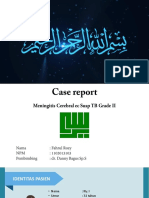 Case Report meningtis ppt