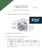 chapter 1  beginnings worksheet