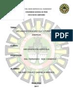 Capitulo 1 Mecanizacion Agricola