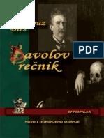 Ambrose Bierce - Đavolov rečnik.epub