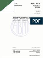 ABNT 27001-2013