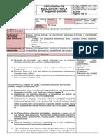 Secuencia de Ed. Física 2º Planes de Evaluacion Macros Periodo 2