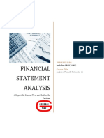 Financial Analysis Final Report General Tyres