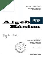 (Manuales Vicens Vives) Michel Queysanne _ traducción de José Luis Viviente.-Álgebra Básica-Vicens Vives (1979).pdf