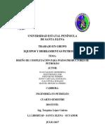 Diseño de Completación Para Producción de Petróleo (Informe)
