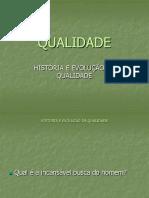 historia a conceitos da QualiDade