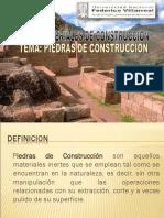 Piedras Construccion 2017