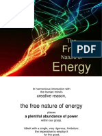 The FREE Nature of ENERGY (Learn How to TAP the Planet's Energy Fields to Provide for All of Your Needs)