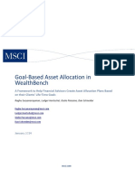 Goal Based Asset Allocation