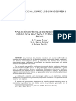 aplicación de técnicas microscópicas en el estudio de reactividad potencial de los áridos