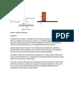 angulo y coeficiente de friccion
