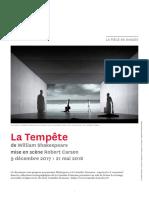 Shakespeare La Tempete - 1718