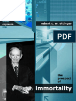 Prospects of immortality