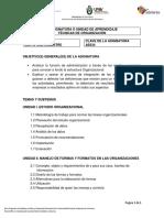 634.- Técnicas de Organización