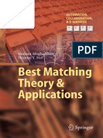 Best Matching Theory Amp Applications