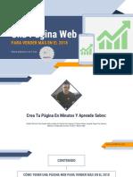 eBook Como Crear Pagina Web Luisrsilva
