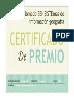 Ldiplomado EEN SISTEmas de Información Geografia