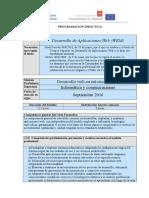 IES Virgen de La Paloma_Programación Didáctica Módulo Desarrollo de Aplicaciones Web
