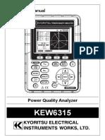 Kew 6315 Manual