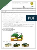 Science 10 worksheet 2