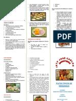 Platos Tipicos de Moquegua - Christian