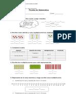 319473437 Evaluacion Multiplicacion Tercero Basico
