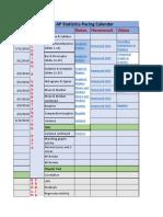 2018 19 ap statistics pacing calendar