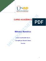 Modulo Metodos Numericos Julio 2008 1