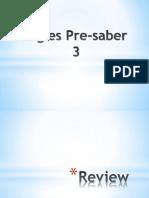 Ingles Pre Saber3