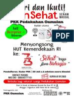 Leaflet Jalan Sehat Gumulan