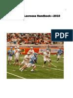 Lacrosse Fundamentals Manual