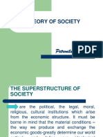 The Superstructure & Character of Society