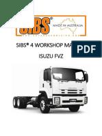 Sibs 4 Workshop Manual - Isuzu Fvz (Rev 1)