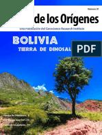 Bolivia, tierra de dinosaurios