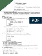 Subiect Admitere 2018 Iulie Informatica UBB