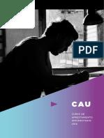 Cuadernillo CAU 2016