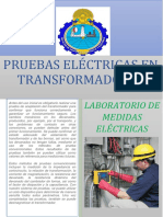 LAB N° 01 PRUEBAS ELECTRICAS EN TRANSFORMADORES