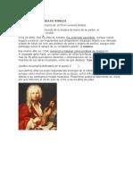 Biografía Resumida de Vivaldi