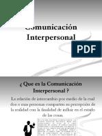 8 Comunicación Interpersonal