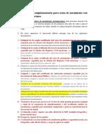 Documentación Para El Trámite de PASAPORTE