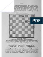 The Game of Chess - The STUDY of CHESS PROBLEMS,By Chadwick, Henry, 1824-1908