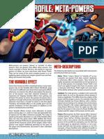 Green Ronin - d20 - Modern - Mutants & Masterminds 3e - Power Profile - Meta-Powers.pdf