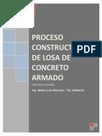 proceso constructivo de losa de concreto armado - Ing. Nestor Luis Sanchez - @NestorL.pdf