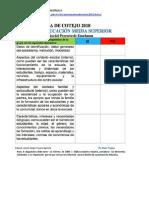 Lista de Cotejo Del Proyecto de Enseñanza del Prof. Álvaro Trujano y Resumen de La Guía de Comunicación, con bibliografía.