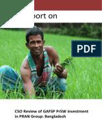 CSO South Annex 2 Study Report_CSO Review_GAFSP PrSW_ PRAN_Bangladesh Copy