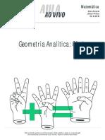 Aulaaovivo Matematica2 Geometria Analitica Conicas 22-12-2016