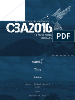 CBA2016 Template